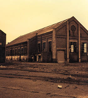 Betteshanger Colliery. Building 1. 2000