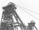 Betteshanger Colliery pithead