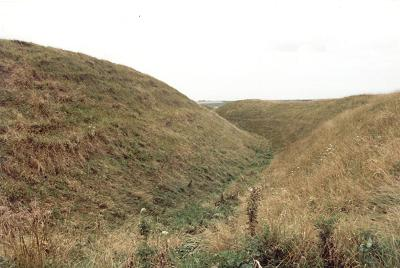 Maiden Castle Hillfort, Dorset